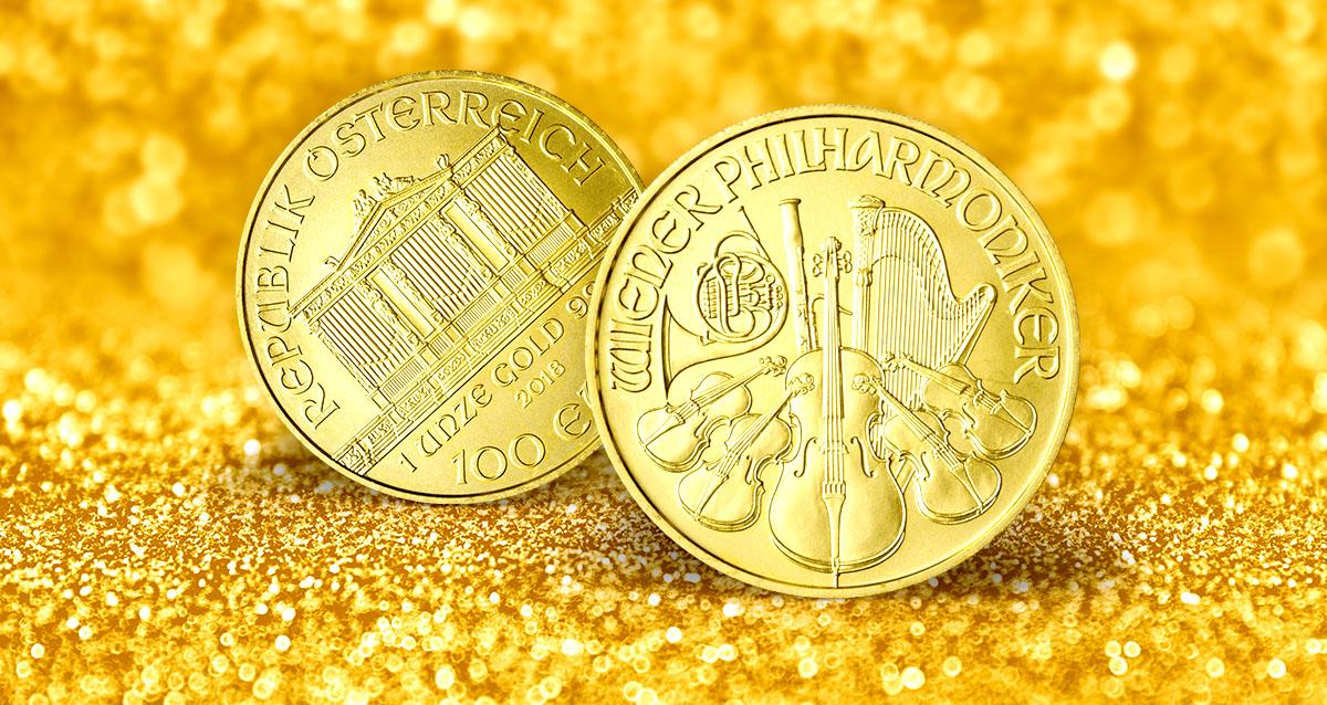 Obľúbenú zlatú mincu Viedenskí filharmonici razia už 30 rokov